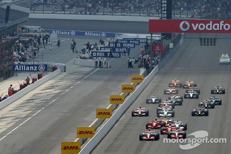 start, race, Lewis Hamilton, McLaren Mercedes