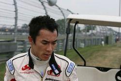 Takuma Sato, Super Aguri F1 yarış dışı from race