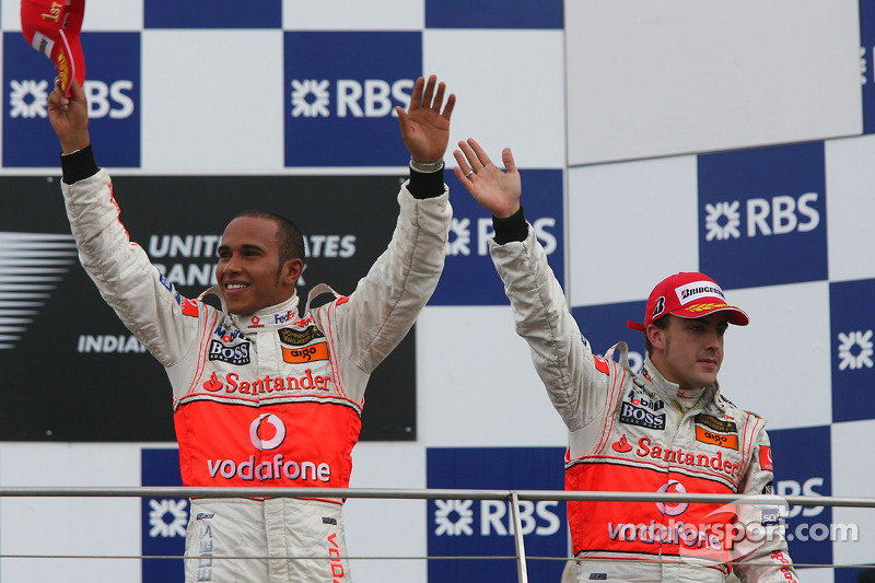 44- Fernando Alonso, 2º en el GP de Estados Unidos 2007