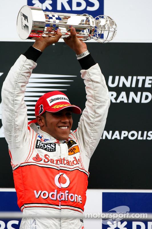 Primer clasificado Lewis Hamilton, McLaren Mercedes
