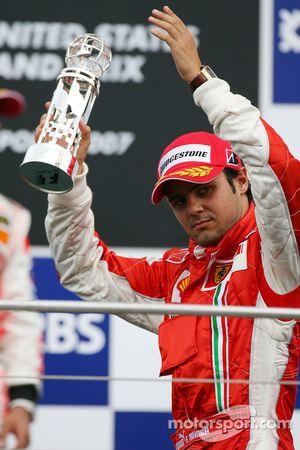 3rd place Felipe Massa, Scuderia Ferrari