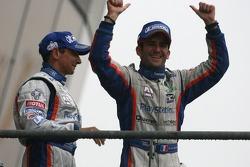 Podium LMP1: Jean-Christophe Boullion et Romain Dumas