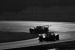 #2 Audi Sport North America Audi R10: Allan McNish, Tom Kristensen, Rinaldo Capello, #1 Audi Sport N