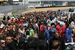 L'ambiance avant la course