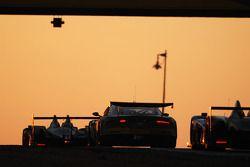 #100 Aston Martin Racing BMS Aston Martin DBR9: Fabio Babini, Matteo Malucelli, Jamie Davies