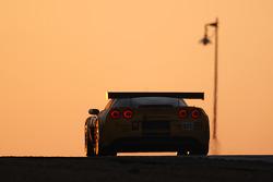 #63 Corvette Racing Corvette C6.R: Johnny O'Connell, Jan Magnussen, Ron Fellows, #64 Corvette Racing