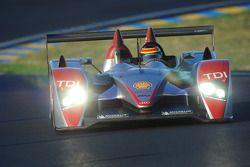 #1 Audi Sport North America Audi R10: Marco Werner, Frank Biela, Emanuele Pirro