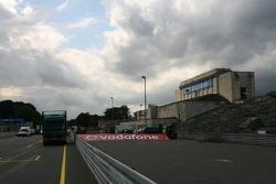 Norisring track preparation