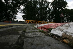 Track Curb at the first hairpin