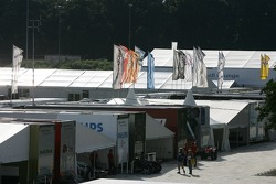 Overview of the Norisring paddock