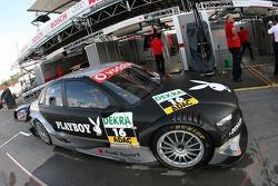 The Audi Sport Team Phoenix Audi A4 DTM of Christian Abt