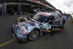 The JAWA4U.de AMG Mercedes C-Klasse of Paul di Resta
