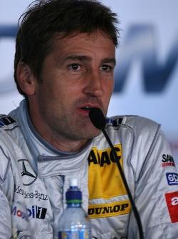 Qualifying press conference: Bernd Schneider