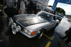 DTM taxi rides: Norbert Haug in his vintage Mercedes-Benz