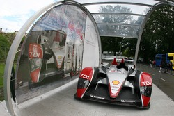 Audi R10 on display