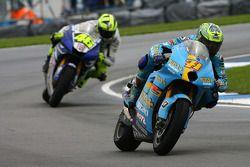 Chris Vermeulen y Valentino Rossi