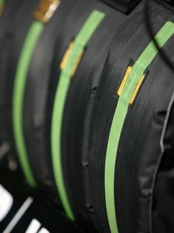 Race tires for Christian Abt