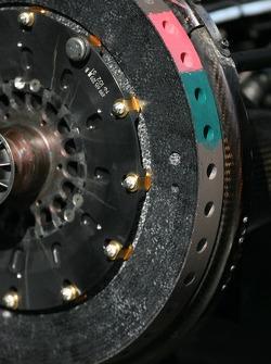 Brake detail of an Audi A4 DTM