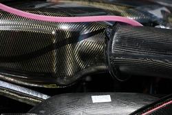 Engine detail of an Audi A4 DTM