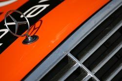Detail of an AMG Mercedes C-Klasse