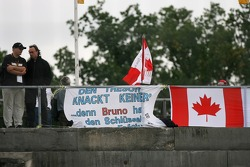 Banners and messages for Bruno Spengler