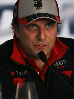 Christian Abt press conference: Christian Abt announces his retirement from racing as a driver