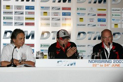 Christian Abt press conference: Christian Abt and Dr. Wolfgang Ullrich
