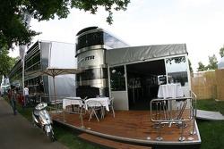 DTM ITR hospitality area