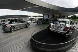 AMG Mercedes C-Klasse DTM and street cars on display