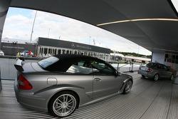 AMG Mercedes street cars on display
