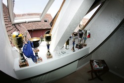 At home near Strasbourg: Bruno Spengler's trophy collection