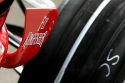 Toyota F1 Team wing detay