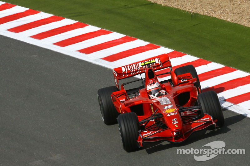 2007: Гран При Франции, Ferrari F2007. Стартовал 3-м