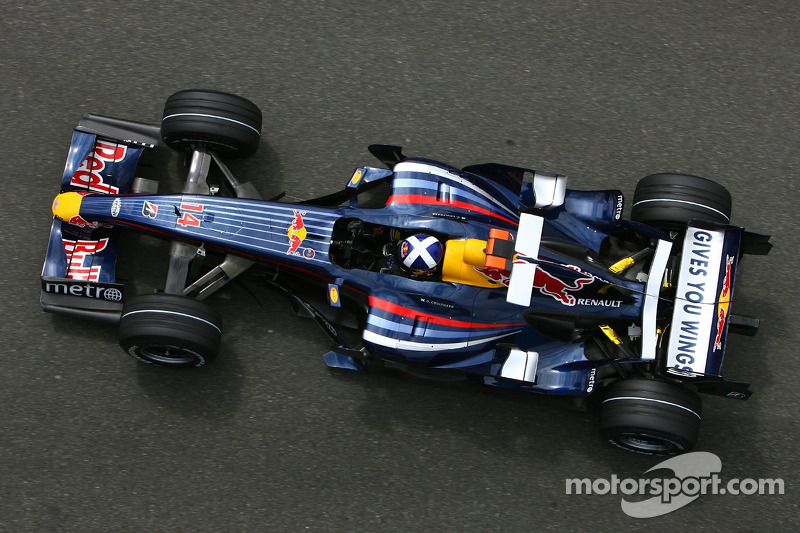 #14: David Coulthard, Red Bull Racing RB3