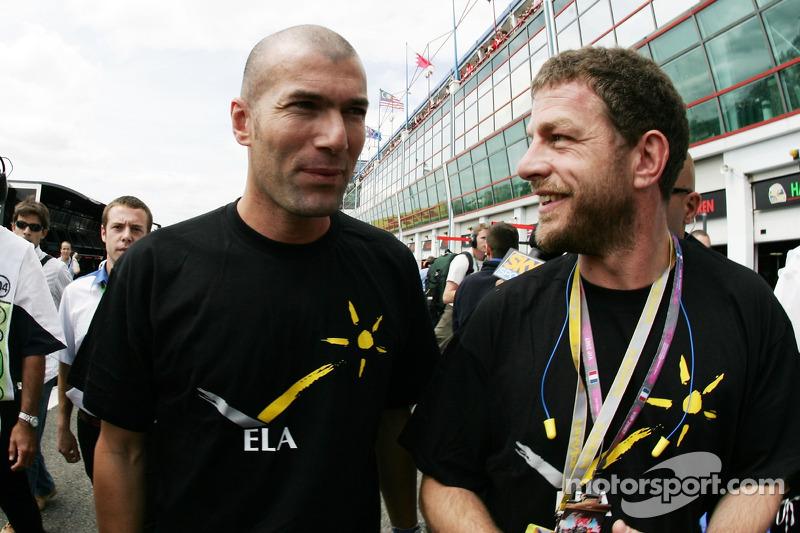 Zinedine Zidane Famous Football Player