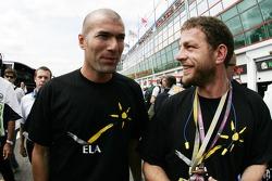 Zinedine Zidane Famous Futbolcu