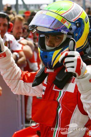 Ganador de la Pole Position Felipe Massa, Scuderia Ferrari