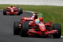 Кими Райкконен и Фелипе Масса, Ferrari F2007