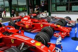Кими Райкконен, Scuderia Ferrari, Фелипе Масса, Scuderia Ferrari, F2007, Льюис Хэмилтон, McLaren Mercedes