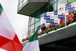Kazanan, 3.Kimi Raikkonen, Scuderia Ferrari, 2. Felipe Massa, Scuderia Ferrari, F2007
