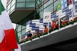Kazanan, 3.Kimi Raikkonen, Scuderia Ferrari, 2. Felipe Massa, Scuderia Ferrari, F2007, 3. Lewis Hami