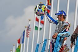 Podio: ganador de la carrera Valentino Rossi