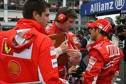 Rob Smedly, Scuderia Ferrari, Pist Mühendisi, Felipe Massa, Felipe Massa, Scuderia Ferrari