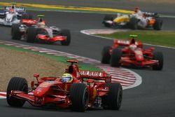 Start, Felipe Massa, Scuderia Ferrari, F2007, 2. Kimi Raikkonen, Scuderia Ferrari, F2007, 3. Lewis H