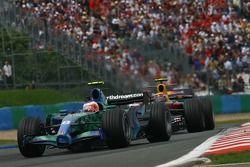 Rubens Barrichello, Honda Racing F1 Team, RA107 ve Mark Webber, Red Bull Racing, RB3