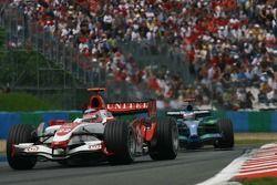 Takuma Sato, Super Aguri F1, SA07 ve Jenson Button, Honda Racing F1 Team, RA107