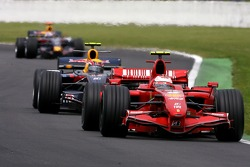 Kimi Raikkonen, Scuderia Ferrari, Mark Webber, Red Bull Racing