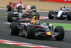 Mark Webber, Red Bull Racing, RB3, David Coulthard, Red Bull Racing, RB3