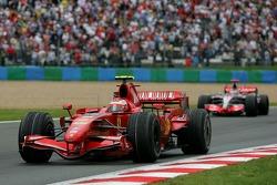 Winner, 1st, Kimi Raikkonen, Scuderia Ferrari, F2007
