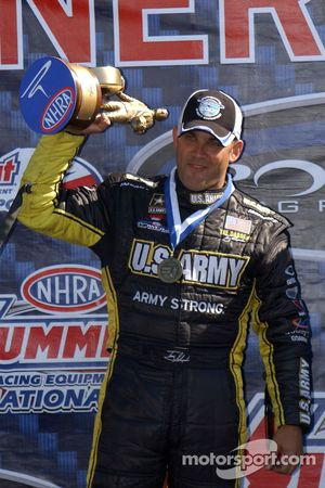 Tony Schumacher, gagnant du Top Fuel
